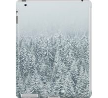 Forest Snow Fir Trees iPad Case/Skin
