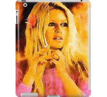 Brigitte Bardot Hollywood Icon by John Springfield iPad Case/Skin