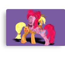 MLP 3D - A Hug For My Cousin Canvas Print