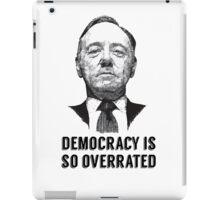 Underwood democracy iPad Case/Skin