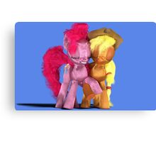 MLP 3D - Apples to the Core Canvas Print