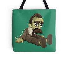 Nietzsche doll for truly lovers - glitch videogame Tote Bag