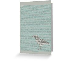 The Raven - Edgar Allen Poe Greeting Card