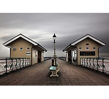 Bleak Penarth Pier Photographic Print