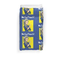 We Can Thaw It!  Duvet Cover