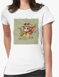 Wild Life #16 Womens Fitted T-Shirt