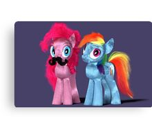 MLP 3D - The 'stache Canvas Print