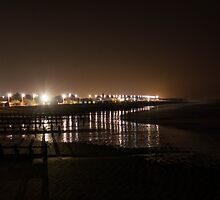 Seafront night scape by SMFphotography