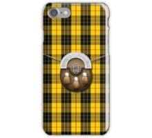 Clan MacLeod Tartan And Sporran iPhone Case/Skin