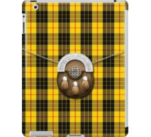 Clan MacLeod Tartan And Sporran iPad Case/Skin