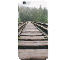 Railroad Forest iPhone Case/Skin