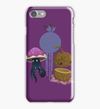 Inhabitant spirit - glitch videogame iPhone Case/Skin