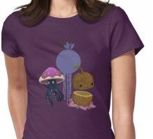 Inhabitant spirit - glitch videogame Womens Fitted T-Shirt