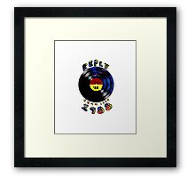 LP records.Reply 1988 Framed Print