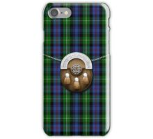 Clan MacKenzie Tartan And Sporran iPhone Case/Skin