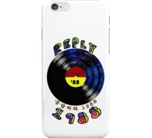 LP records.Reply 1988 iPhone Case/Skin