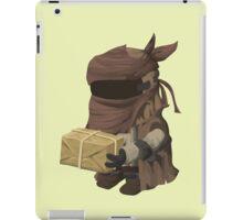 Inhabitant vendor - glitch videogame iPad Case/Skin