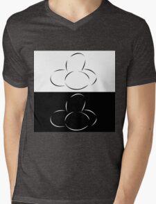 Abstract eggs Mens V-Neck T-Shirt