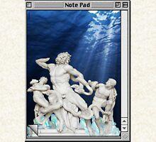 Atlantis waters Vaporwave Pullover