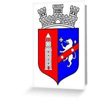 Coat of Arms of Tirana Greeting Card