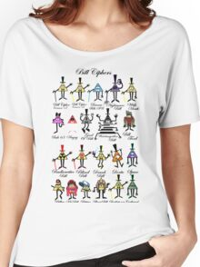 Bill Cipher Statistics. Women's Relaxed Fit T-Shirt
