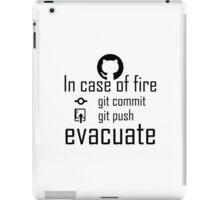 In case of fire ... back iPad Case/Skin