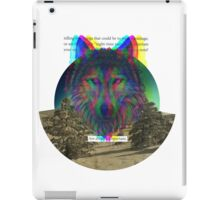 Wolf Hologram  iPad Case/Skin