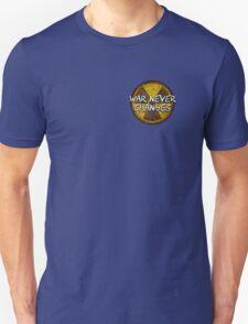 Fallout Radioactive Radiation Symbol War Gamer Nerd Unisex T-Shirt