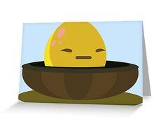 Firebog egg - glitch videogame Greeting Card
