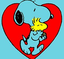 snoopy love by goneficri