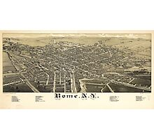 Panorama View of Rome New York (1886) Photographic Print
