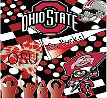 Ohio State Collage Photographic Print