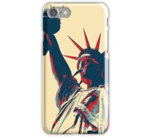 statue-of-liberty-768679 art iPhone Case/Skin