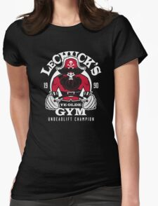 Ye Olde Gym Womens Fitted T-Shirt