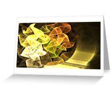 Earth Ribbons Greeting Card
