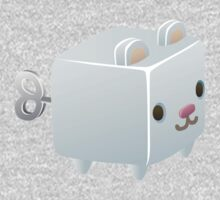 Cubimal Snowcone vendor - glitch videogame Baby Tee