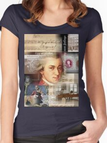 mozart Women's Fitted Scoop T-Shirt