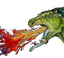 Dragon's Barf Rainbows by Trinketty