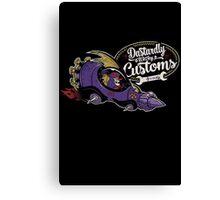 Dastardly Wacky Customs Canvas Print