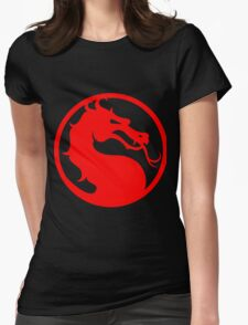 Mortal Kombat - Red Dragon Womens Fitted T-Shirt
