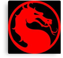 Mortal Kombat - Red Dragon Canvas Print
