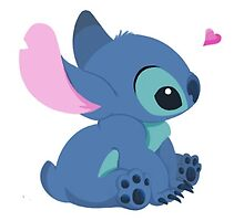 Kawaii stich by Rainbowcats01
