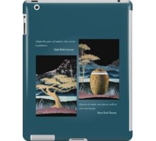 Abstract Nature Mountain Trees & Streams iPad Case/Skin
