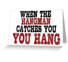 Trantino Movie Quotes Greeting Card