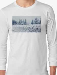 fence frost Long Sleeve T-Shirt