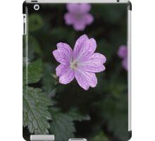 Pencilled Crane's-bill iPad Case/Skin