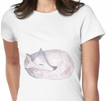 Lilac Fox Womens Fitted T-Shirt