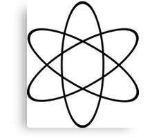 Atom Symbol Canvas Print
