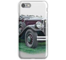 1930 Pierce Arrow B Roadster iPhone Case/Skin