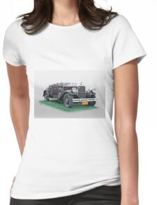 1930 Pierce Arrow B Roadster Womens Fitted T-Shirt